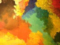 покрашенное цветастое предпосылки Стоковое Изображение