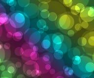 покрашенное bokeh предпосылки красивейшее Стоковое Изображение