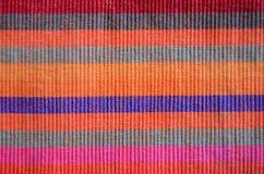 покрашенное muti ткани стоковая фотография