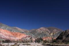 покрашенное pumamarca горы Стоковое Изображение