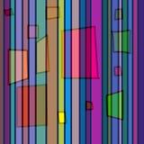 покрашенное tetragon Стоковые Изображения RF
