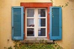 Покрашенное Windows Стоковое Фото
