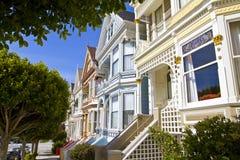 Покрашенные дамы в Сан-Франциско Стоковое Изображение RF