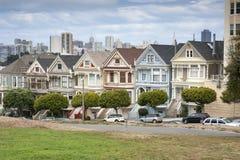 Покрашенные дамы в Сан-Франциско Стоковое Фото