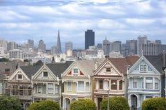 Покрашенные дамы в Сан-Франциско Стоковые Фото