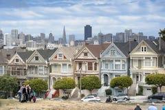 Покрашенные дамы в Сан-Франциско Стоковые Изображения