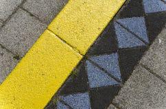 Покрашенные бетонные плиты Стоковая Фотография