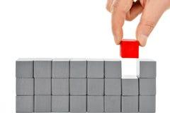 покрашенные блоки Стоковое фото RF