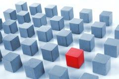 покрашенные блоки Стоковые Фотографии RF