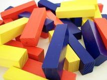 Покрашенные блоки 2 стоковое фото
