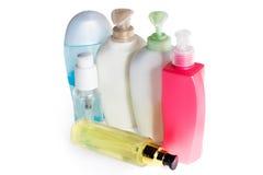 покрашенные бутылки пластичными Стоковые Изображения RF