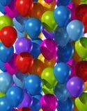покрашенные воздушные шары Стоковое Изображение