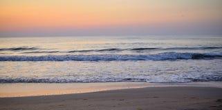 Покрашенные волны на румынском море Стоковое фото RF