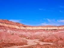 Покрашенные горы Аризона пустыни Стоковые Фото