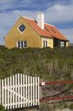 покрашенные дома Дании Стоковые Изображения