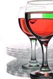 покрашенные жидкости стеклоизделия multi Стоковая Фотография RF