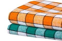 покрашенные изолированные полотенца кухни 2 Стоковая Фотография