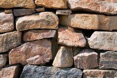 Покрашенные камни, штабелированные утесы, Стоковые Изображения RF