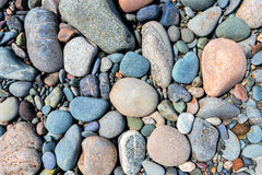 Покрашенные камни Стоковое фото RF