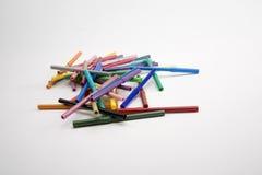 покрашенные карандаши Стоковые Изображения RF