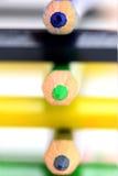 покрашенные карандаши Стоковое Фото
