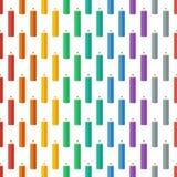 покрашенные карандаши также вектор иллюстрации притяжки corel Справочная информация Бесконечную текстуру можно использовать для п Стоковое Изображение RF