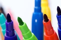 Покрашенные карандаши 12 Стоковая Фотография