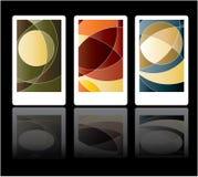 покрашенные карточки Стоковые Фотографии RF