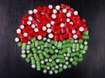 покрашенные конфеты Стоковое фото RF