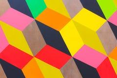 покрашенные кубики multi Стоковые Фотографии RF