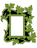 покрашенные листья рамки Стоковое фото RF