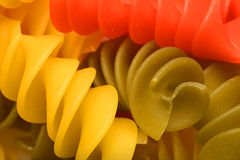 Покрашенные макаронные изделия 2 Стоковое Фото