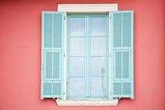 покрашенные открытые окна Стоковые Фотографии RF