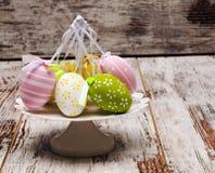 Покрашенные пасхальные яйца Стоковая Фотография