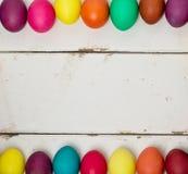 покрашенные пасхальные яйца multi Стоковые Изображения