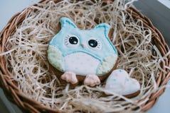 Покрашенные печенья Стоковые Фото