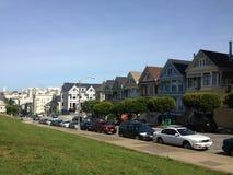 Покрашенные повелительницы, San Francisco стоковые изображения rf