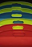 покрашенные подушки Стоковое Фото
