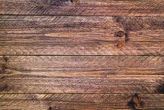 Покрашенные планки стены деревянные коричневыми Стоковые Изображения RF