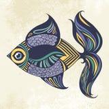 покрашенные рыбы Бесплатная Иллюстрация