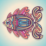 покрашенные рыбы Иллюстрация штока