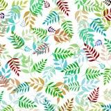 покрашенные свежие листья Стоковые Изображения RF