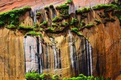 Покрашенные скалы Стоковая Фотография