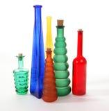 покрашенные стеклянные вазы Стоковое фото RF