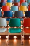 покрашенные стулы Стоковые Изображения RF