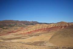 покрашенные холмы пустыни Стоковое Изображение