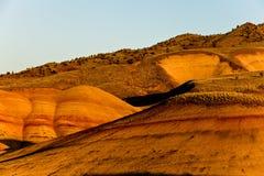 покрашенные холмы Стоковые Фото