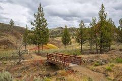 Покрашенные холмы, Орегон Стоковая Фотография