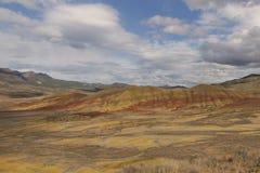 Покрашенные холмы Стоковое Фото