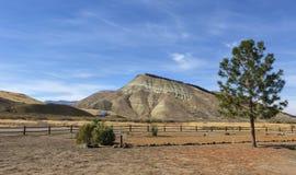 Покрашенные холмы стоковая фотография rf